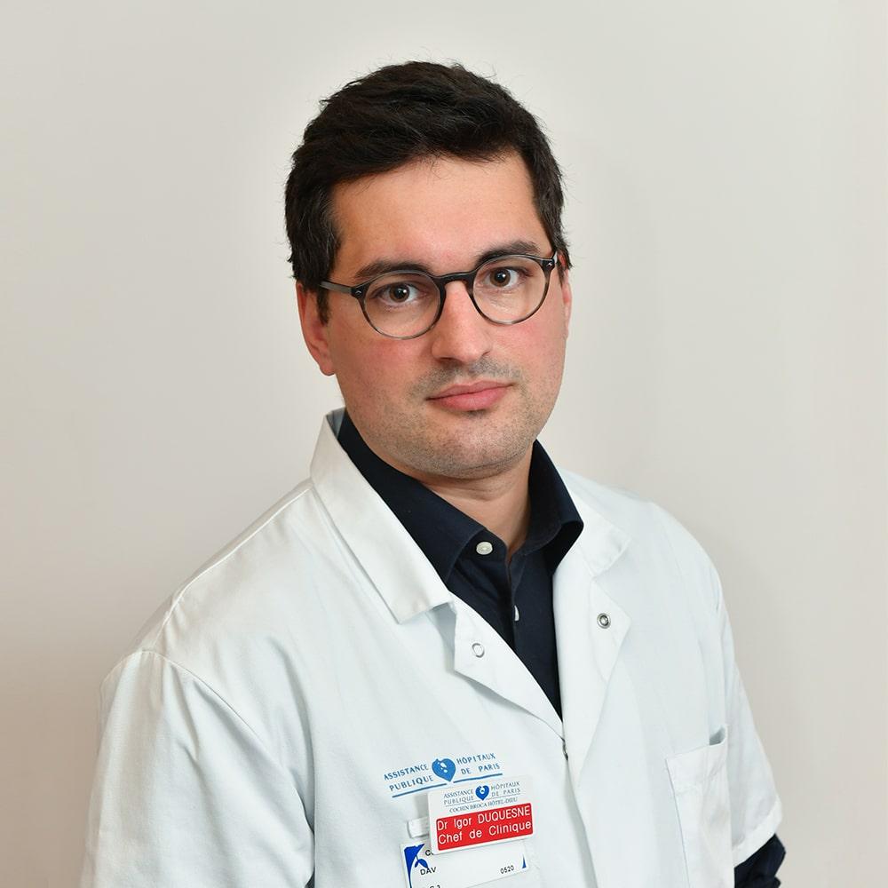 Dr Igor DUQUESNES